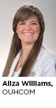 Medical Student: Aliza Williams, OUHCOM