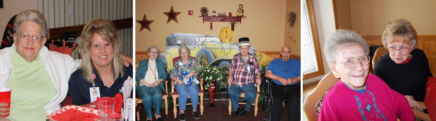 Assisted Living Activities and residents
