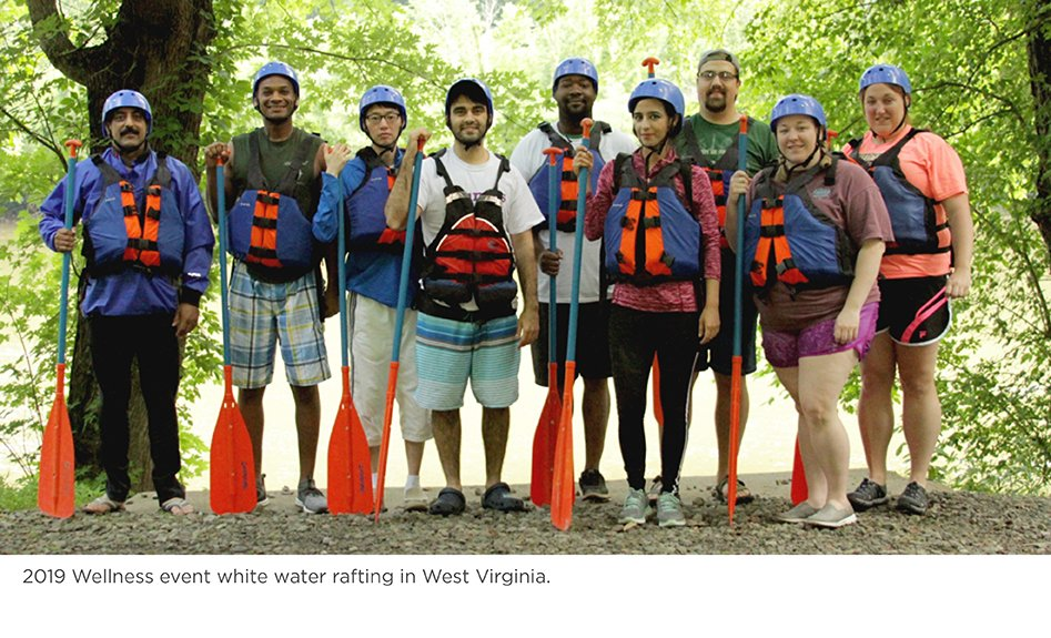 2019 Residents white water rafting group