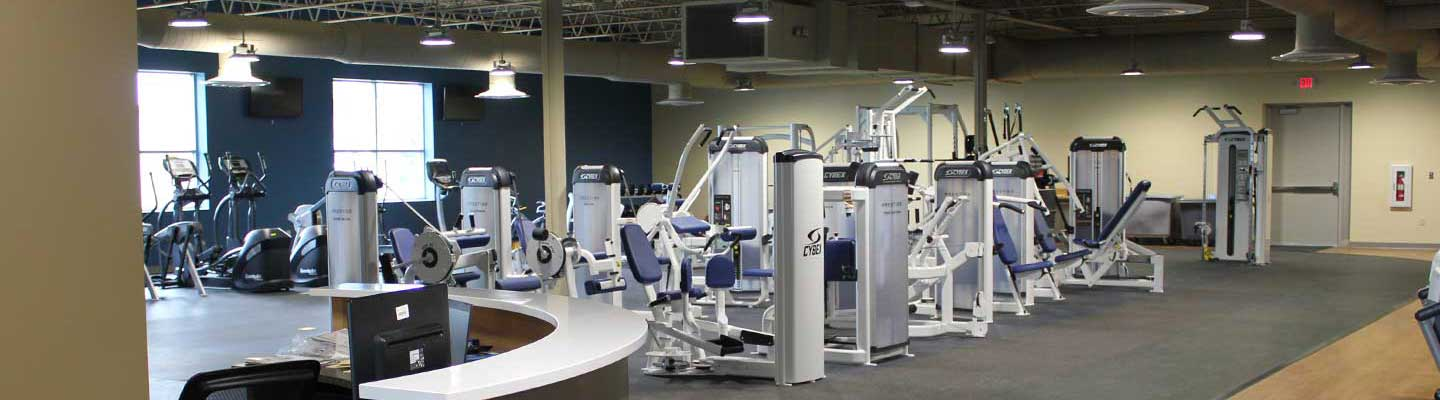 Wellness Center equipment