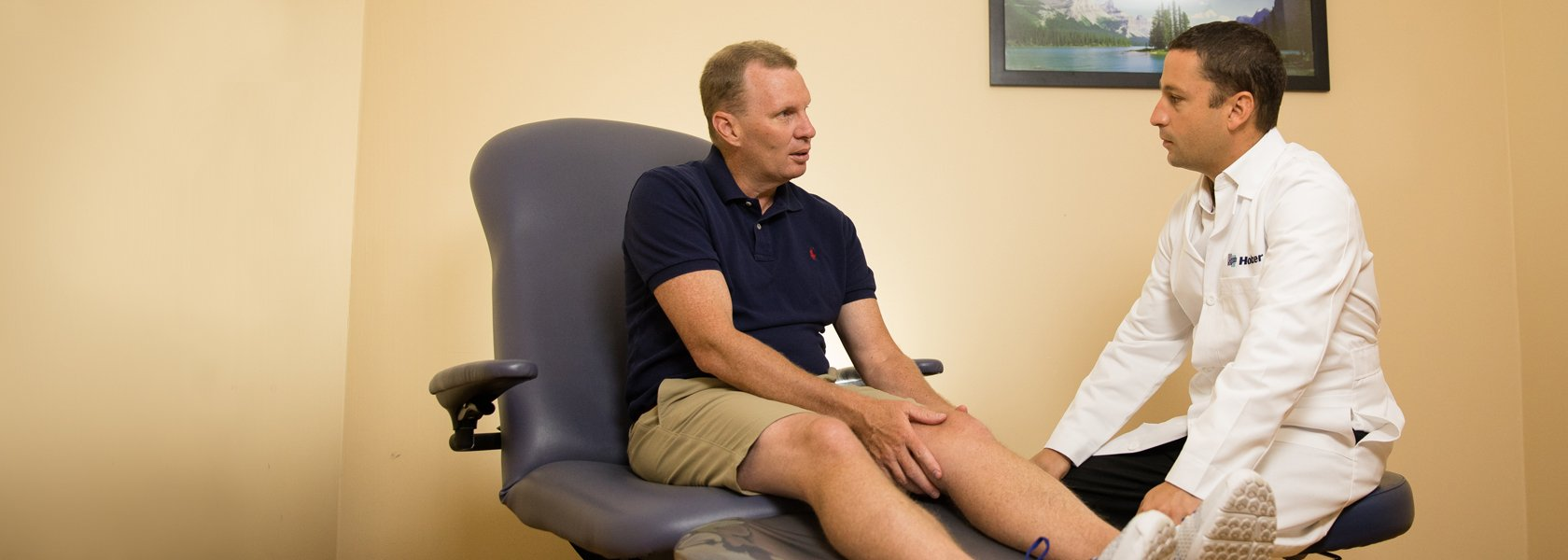 Orthopedic Patient with Dr. Zierenberg - banner image