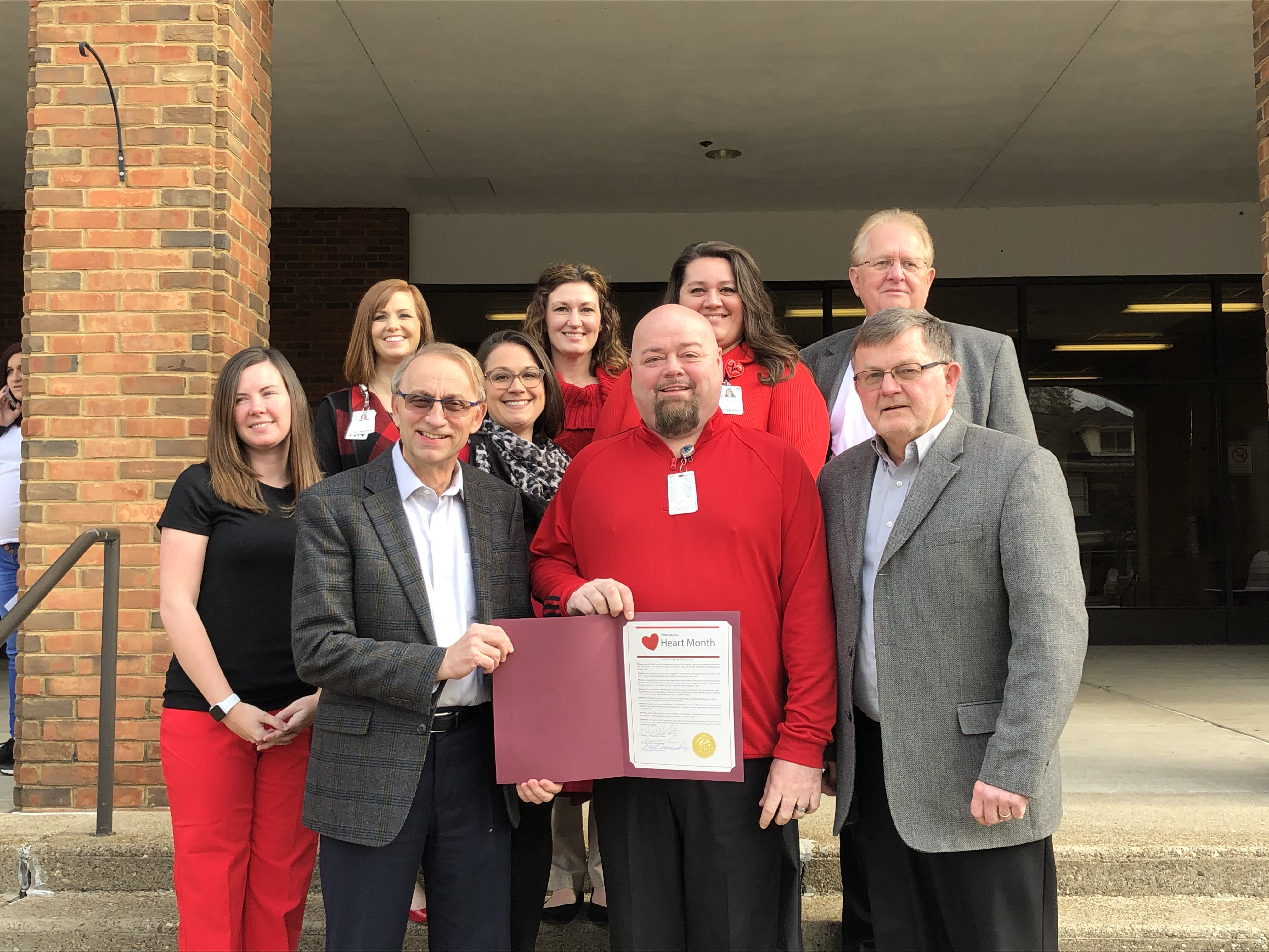 Gallia County Heart Month Proclamation Image