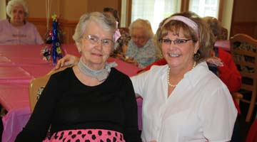Assisted Living residents and staff celebrate anniversary