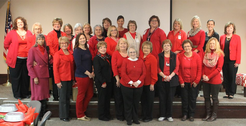 Go Red for Women Lunch & Panel Discussion - group