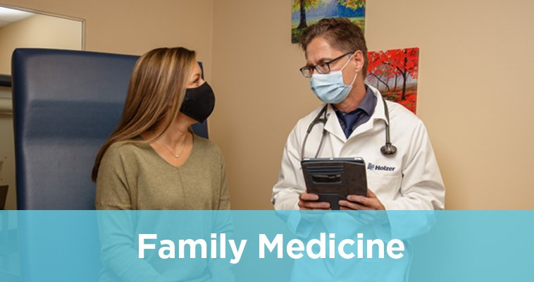 Family Medicine: Patient and Doctor talking